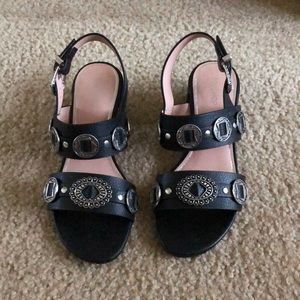 Topshop Sandals with conchos